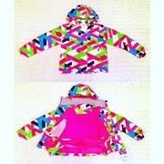 Весенние мембранные непромокаемые  куртки для девочек и мальчиков