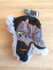 Финские теплые зимние меховые шапки ушанки для мальчиков Lummie. Reike