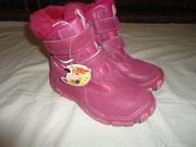 Ботинки «сказка» новые зимние размер 32