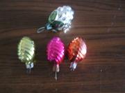 4 винтажные елочные игрушки