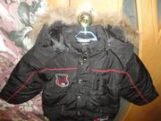 Курточка детская зимняя новая 98-104 см (2-4 года)